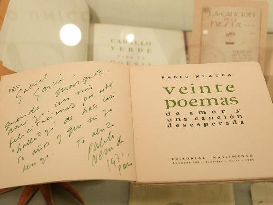 Un archivo de Neruda se subastará en una semana en España tras retrasarse por el virus