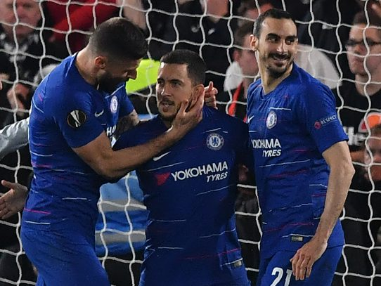 Arsenal-Chelsea será la final de Europa League
