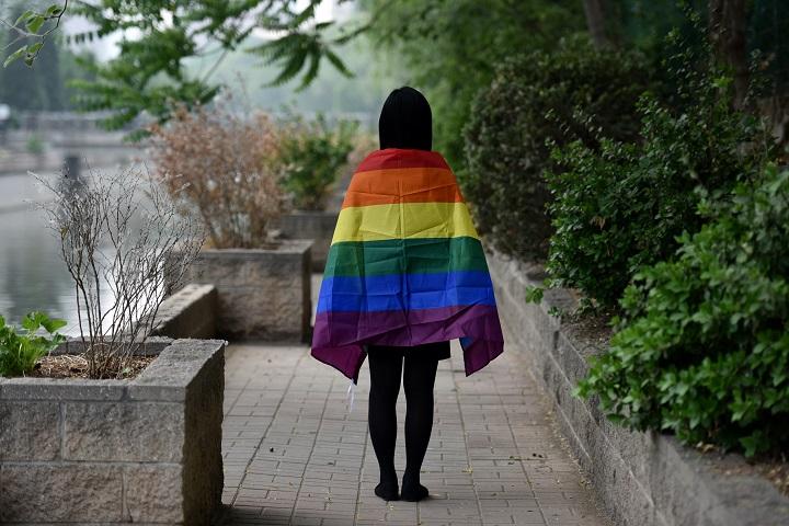 Los homosexuales chinos se casan en línea
