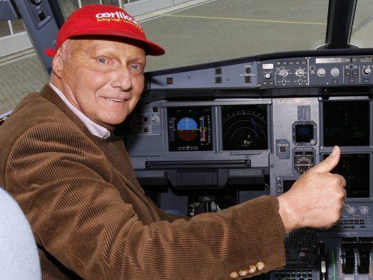 Muere a los 70 años la leyenda de la Fómula 1 Niki Lauda