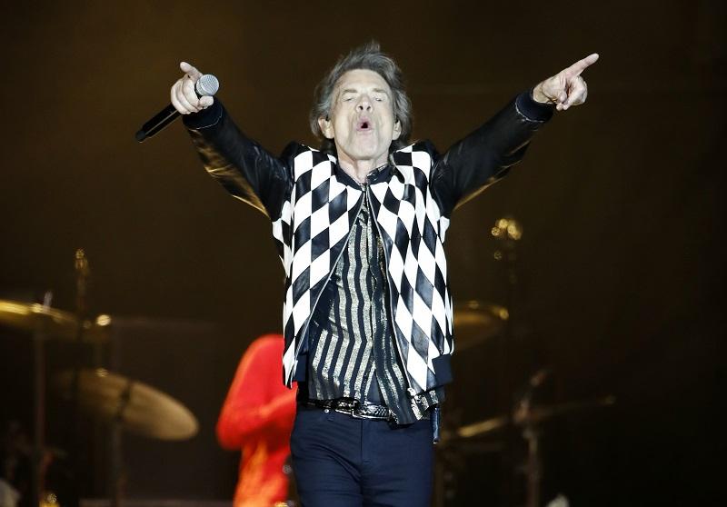 Mick Jagger en clausura del festival de cine de Venecia