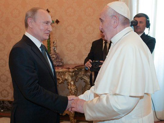 Papa habla con Putin de la crisis en Venezuela, Siria y Ucrania