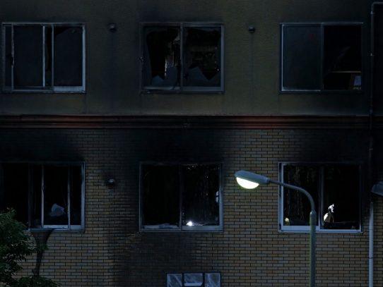 Japón, conmocionado por el incendio en el estudio Kyoto Animation