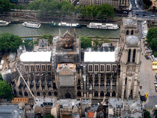 Inicio de obras de reconstrucción de Notre Dame previsto para 2021