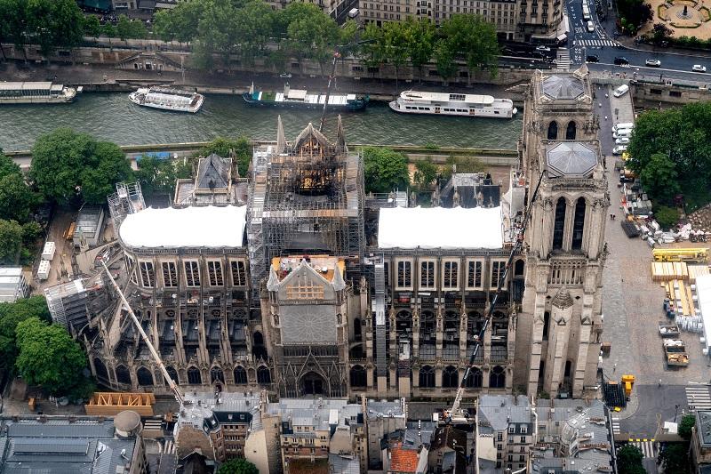 Notre Dame sin misa de Navidad por primera vez en más de 200 años