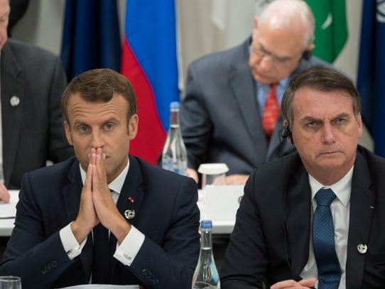 Bolsonaro avala insultos contra primera dama de Francia