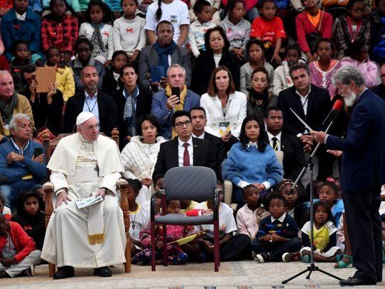 El papa da la voz de alarma sobre la deforestación de Madagascar