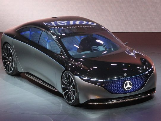 Los nuevos autos eléctricos alemanes, estrellas del salón de Fráncfort