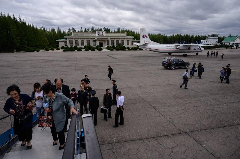 Kim Jong Un inaugura la ciudad nueva de Samjiyon en Corea del Norte