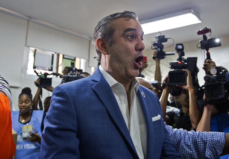El opositor Luis Abinader ganó las elecciones presidenciales en República Dominicana