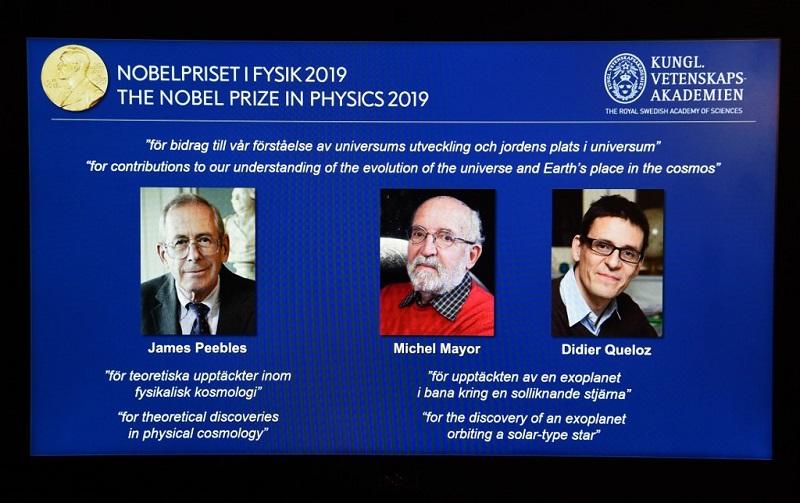 Nobel de Física para trío de cosmólogos