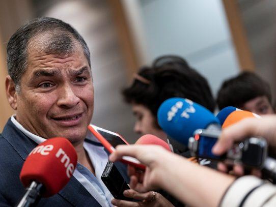 Rafael Correa anuncia que será candidato a la vicepresidencia de Ecuador