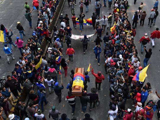 El Ágora, epicentro de la ira indígena en Ecuador