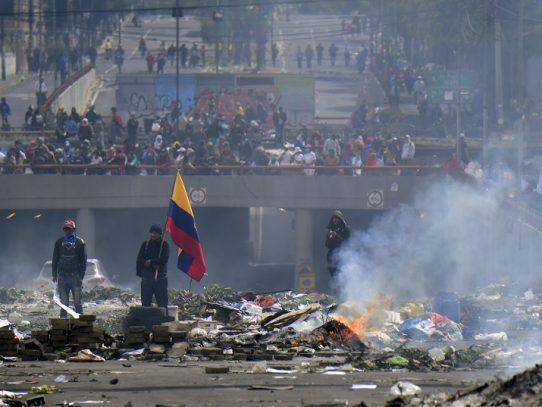Indígenas y gobierno de Ecuador abren diálogo tras violenta jornada en Quito