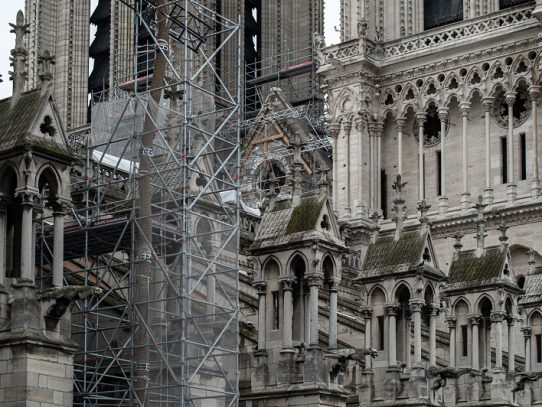 Expertos chinos participarán en la reconstrucción de Notre Dame de París