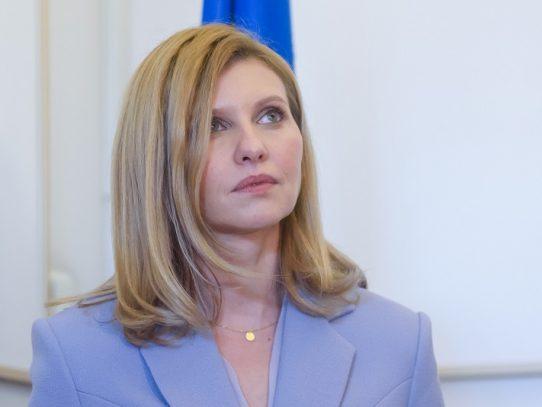 La primera dama de Ucrania da positivo al coronavirus