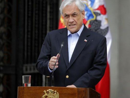 """Piñera asegura que el plebiscito es el """"comienzo y no el fin"""" del futuro de Chile"""