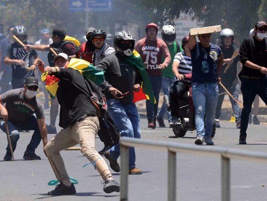 OEA inicia auditoría electoral en Bolivia con violencia en las calles