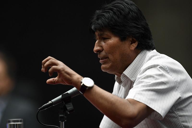 Evo Morales un huésped VIP en México