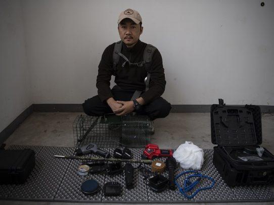 Sun Jinrong, el detective chino que busca mascotas desaparecidas
