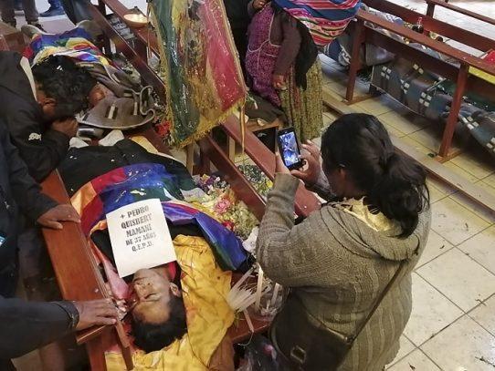"""Morales pide ayuda internacional para frenar el """"genocidio"""" en Bolivia"""