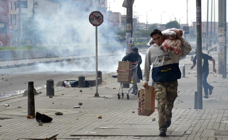 Alcalde de Bogotá amplía toque de queda a toda la ciudad por disturbios