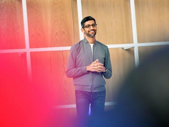 Sundar Pichai toma las riendas de Google y Alphabet