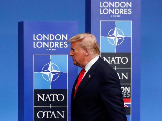 Pillan a dirigentes de la OTAN riéndose de Trump