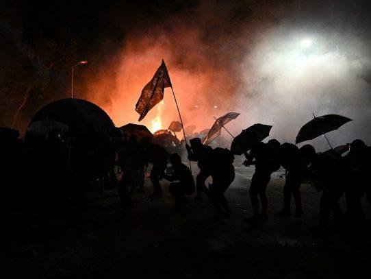 Los manifestantes de Hong Kong no se arrepienten de seis meses de sacrificios