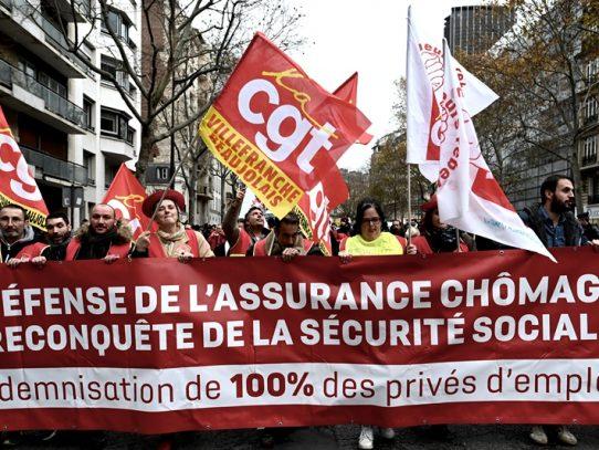 Huelga contra las pensiones se alarga en Francia con el transporte público paralizado