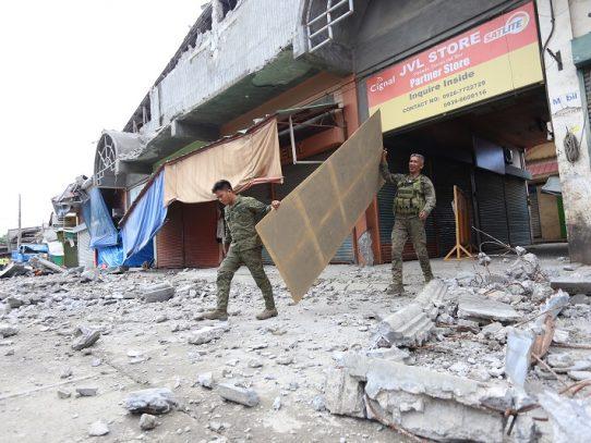 Terremoto de Filipinas deja tres muertos y sigue búsqueda de desaparecidos