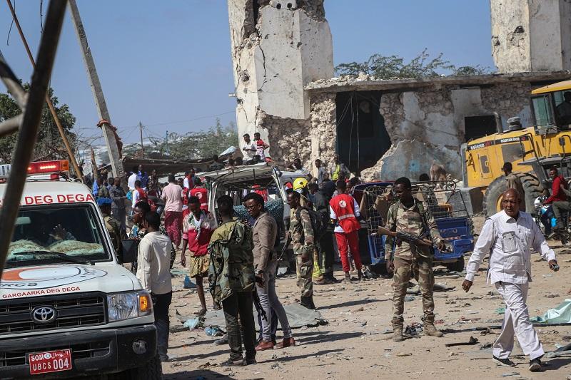 Estalla camión bomba en Somalia, causando 76 muertos