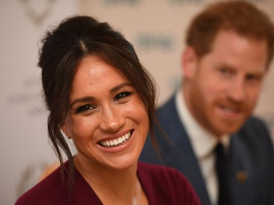 La esposa del príncipe Enrique, Meghan, regresó a Canadá
