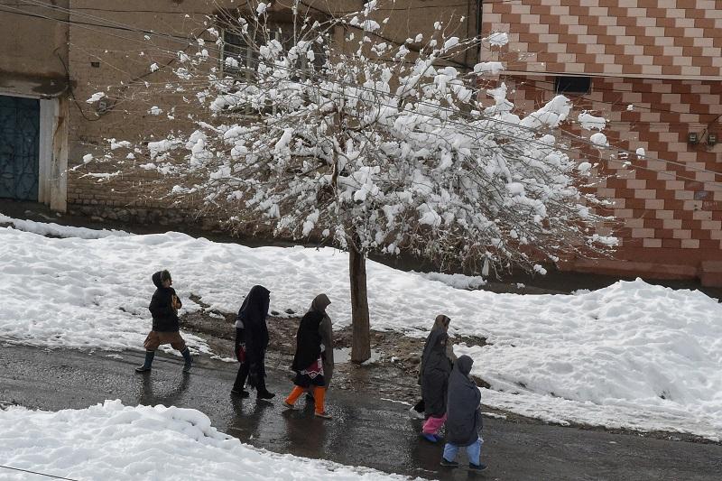 Más de 80 muertos por extremo clima invernal en Pakistán y Afganistán