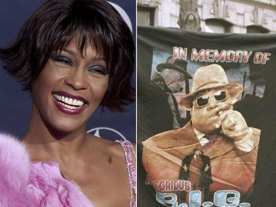 Whitney Houston y Biggie entre los nuevos miembros del Salón de la Fama del Rock & Roll