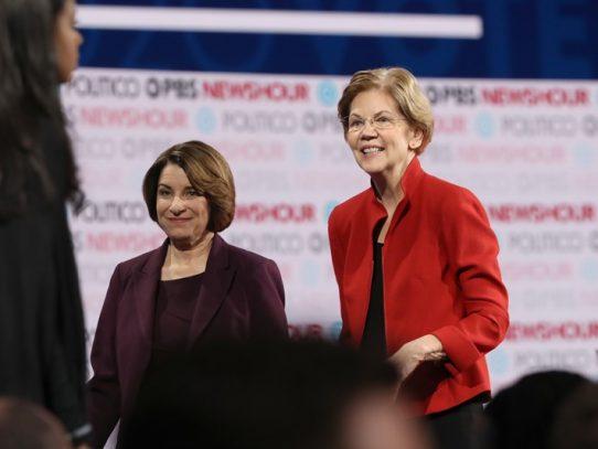 El New York Times apoya a candidatas demócratras Warren y Klobuchar