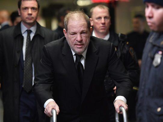 Harvey Weinstein dio positivo al coronavirus, según medios