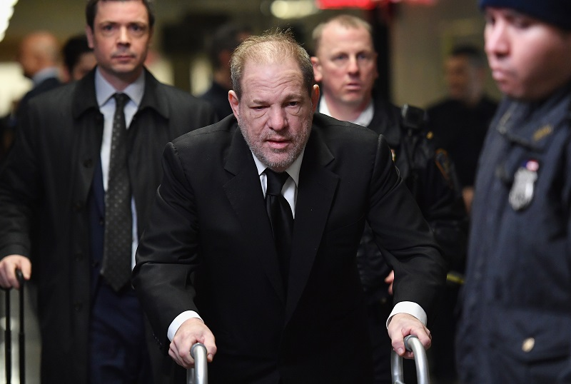 Comienzan alegatos de apertura del juicio contra Harvey Weinstein