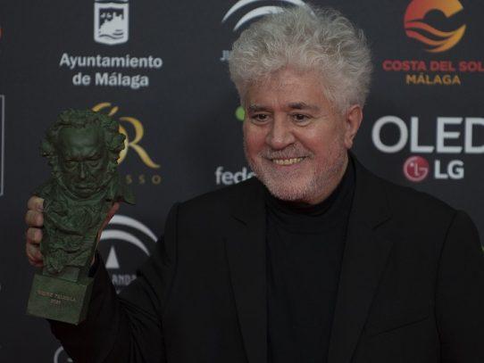 """Almodóvar, mejor película y mejor dirección en los Goya con """"Dolor y gloria"""""""