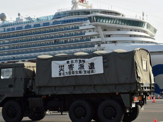 Otros 88 contagios de coronavirus a bordo de crucero en Japón