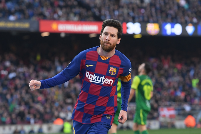 Barcelona derrota 5-0 al Eibar con cuatro goles de Messi