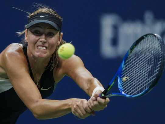 La tenista rusa Maria Sharapova se retira