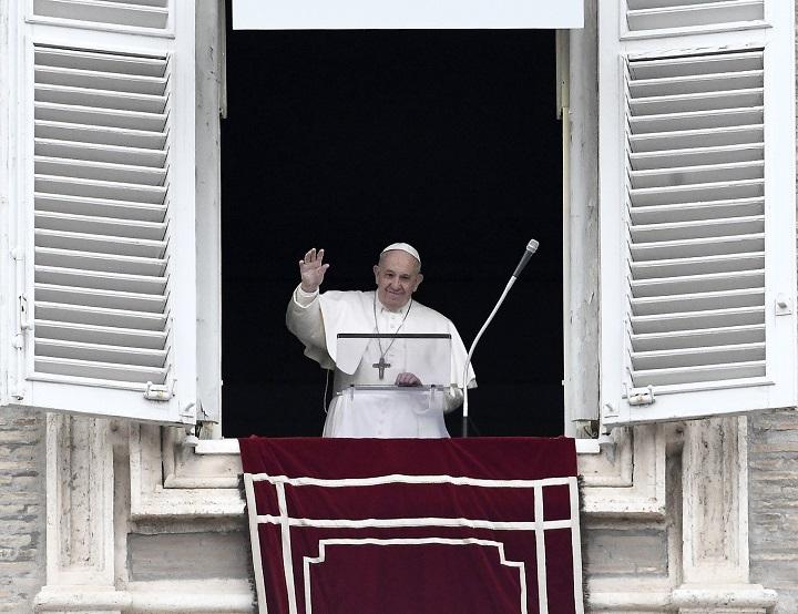 El papa oficiará oración dominical por video debido al coronavirus