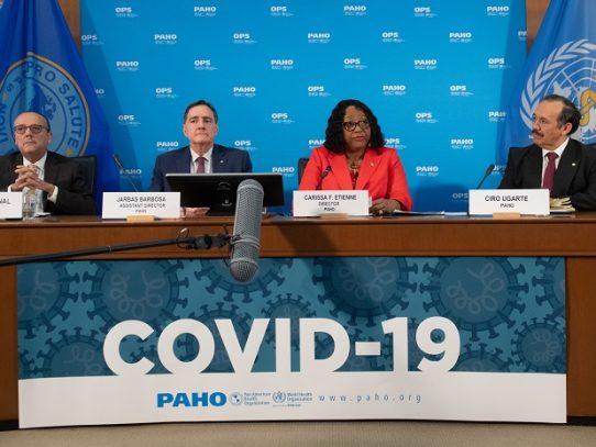 """OPS espera """"tsunami"""" de casos de COVID-19 en Latinoamérica y el Caribe"""