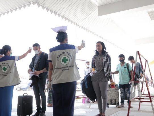 Birmania registra sus primeros casos de coronavirus