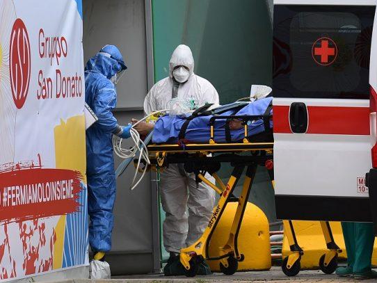 Autoridades italianas instan a no ilusionarse por reducción de contagios