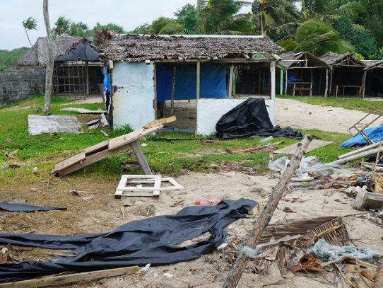 El ciclón tropical Harold se refuerza y golpea Tonga