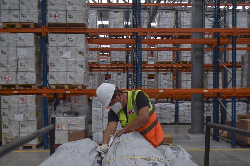 ONU y Cruz Roja distribuyen 16,5 toneladas de ayuda contra COVID-19 desde Panamá