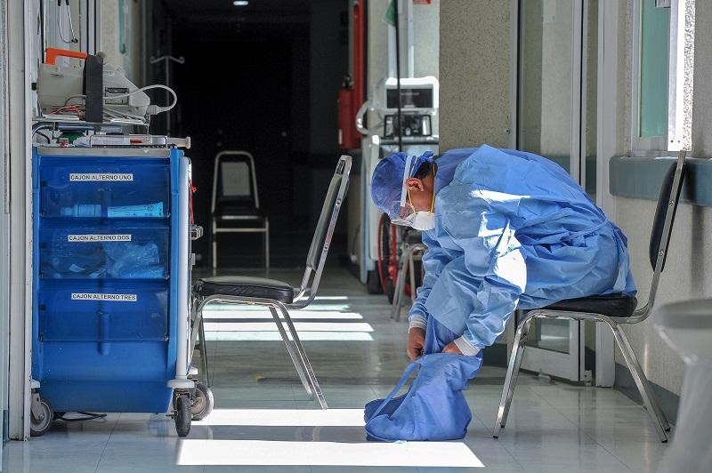 El coronavirus pasa factura a la salud mental de médicos y enfermeros