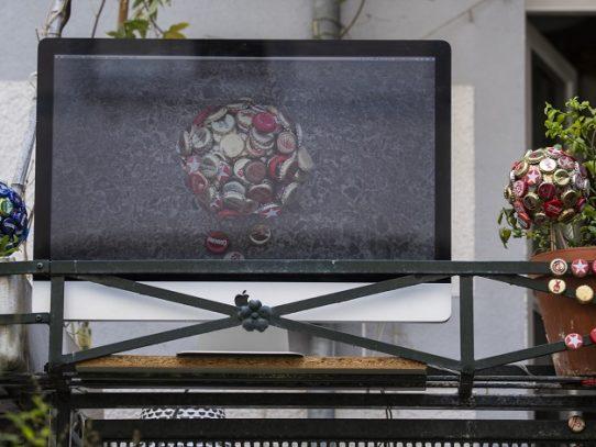 El arte sale a los balcones en Berlín en tiempos de coronavirus